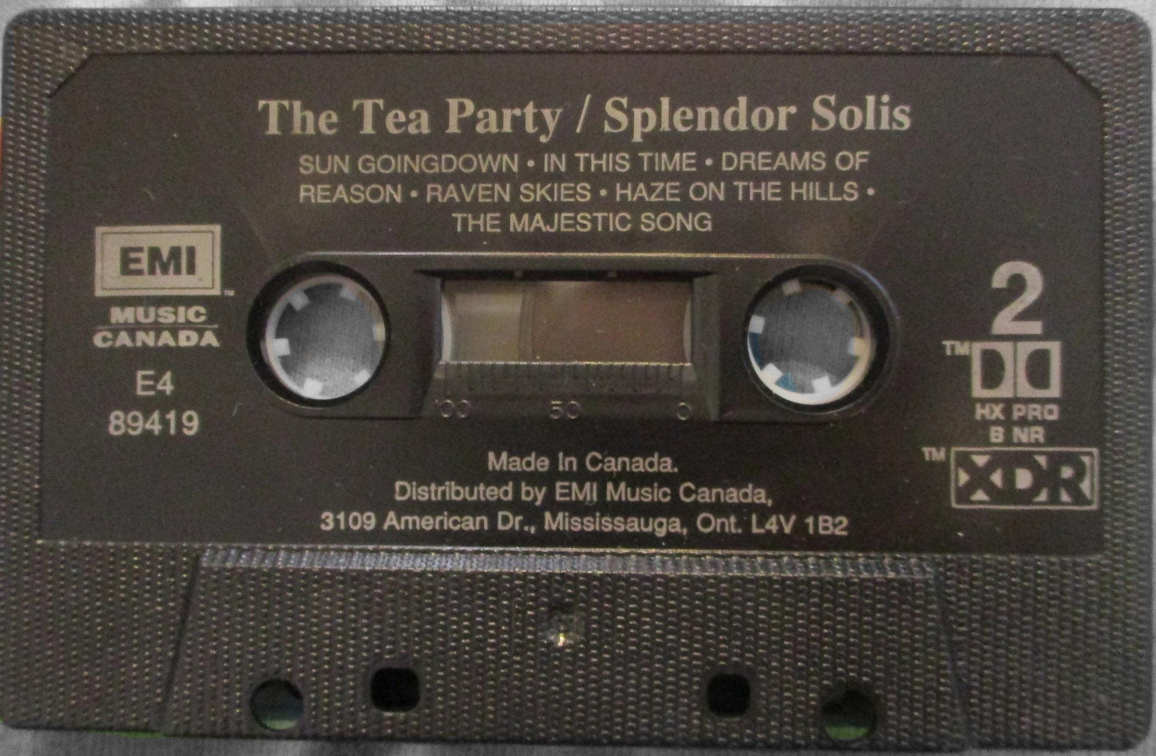 Splendor Solis Cassette
